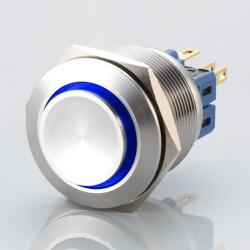 Stainless steel push buttons Ø0.99 inch Projecting LED...