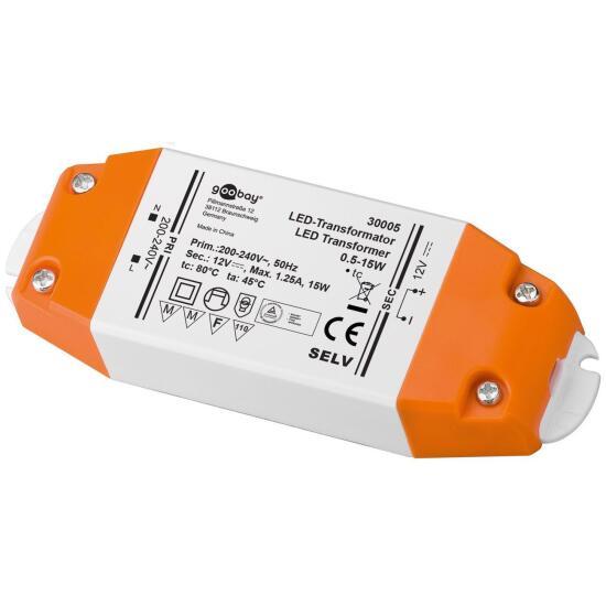 LED-Transformator 12V/DC