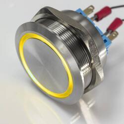 XXL Push-button - LED-illumination - waterproof - toggle...